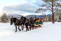 Double Arrow Sleigh Rides, Seeley LakeMT-7137